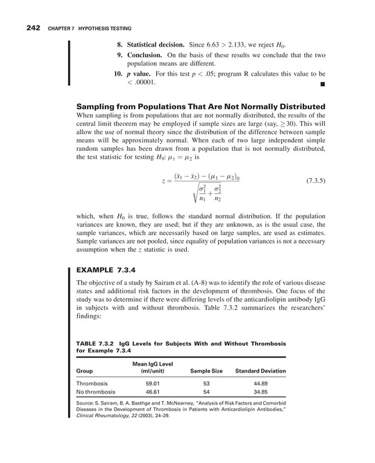 Biostatistics - Neus 444 Textbook - Page 252-253 - Created with