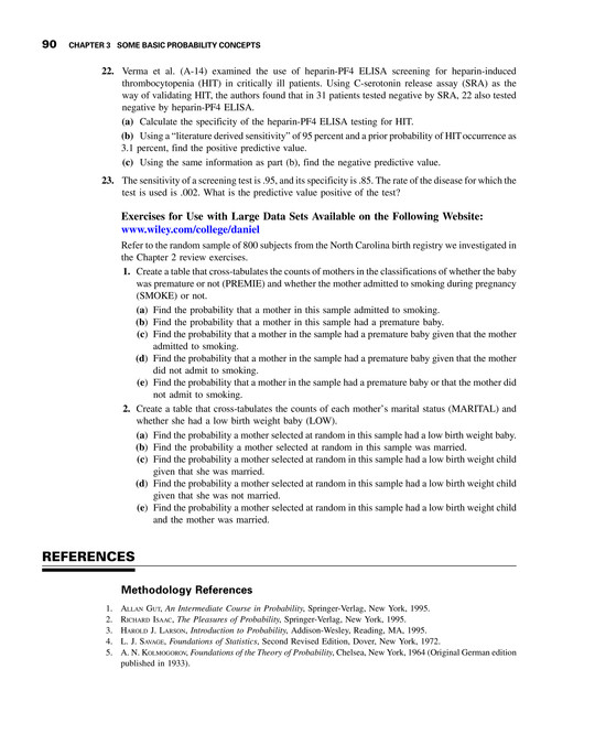 Biostatistics - Neus 444 Textbook - Page 100-101 - Created