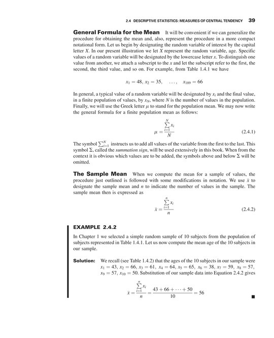 Biostatistics Neus 444 Textbook Page 48 49 Created With