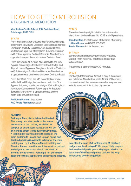 Edinburgh International Harp Festival - EIHF_2018_brochure - Page 60