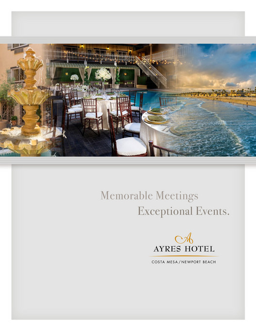 Memorable Meetings Exceptional Events