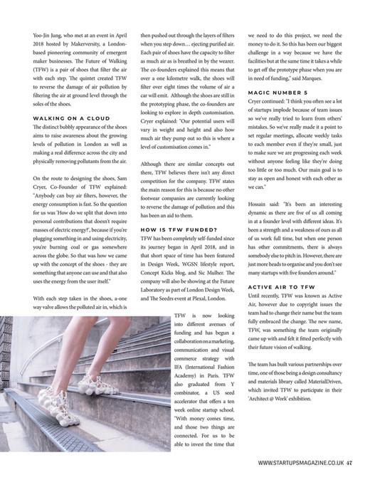 Startups Magazine - Startups Magazine Issue 5 - Page 44-45