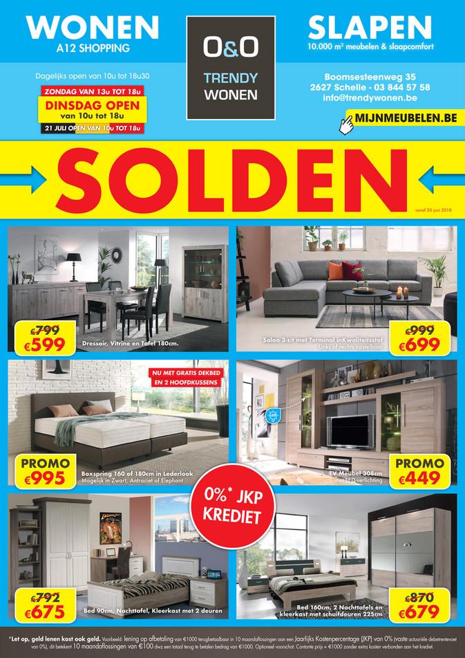 O&O Trendy Wonen folder van 28/06/2018 tot 21/07/2018 - O&O Solden NL