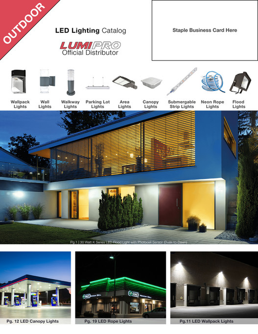 R O Td Staple Business Card Here U Led Lighting Catalog Official Distributor Wallpack