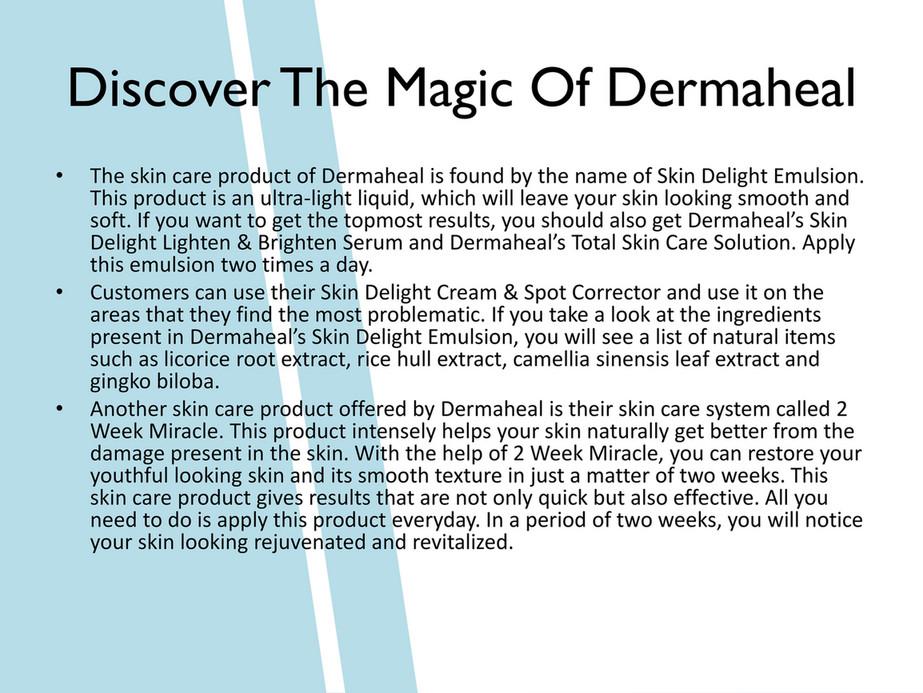 Annas Cosmetics - Introduction To Various Rejuvenating