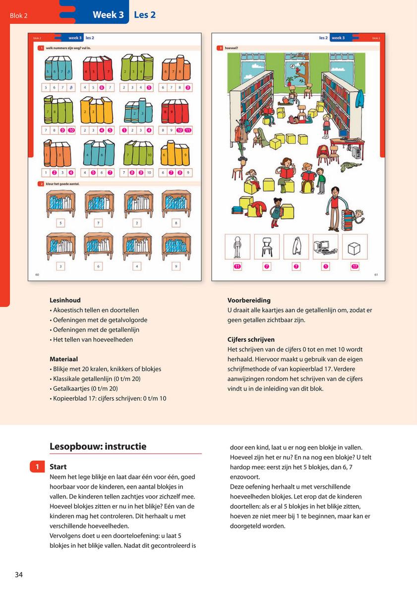 Verwonderend Malmberg - De wereld in getallen Handleiding Groep 3 blok 2 ZD-02