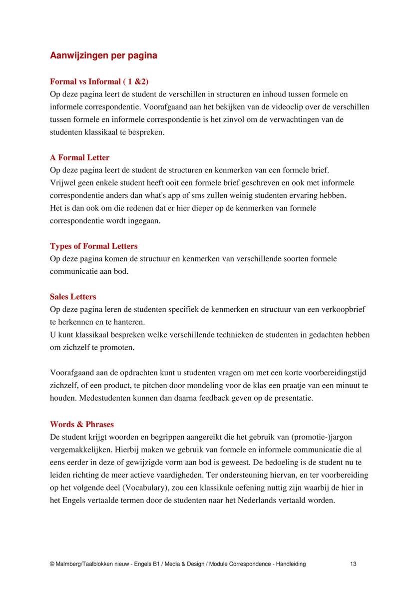 Malmberg Taalblokken Engels Docentenhandleiding Media En