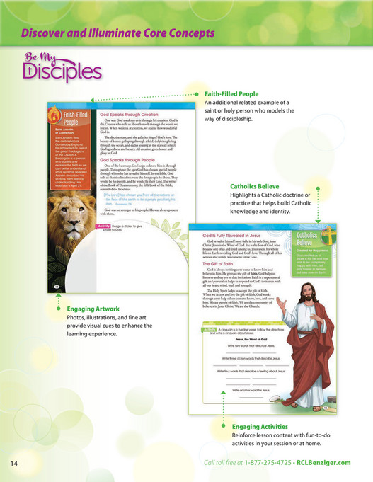 RCL Benziger - Be My Disciples Parish Edition Overview
