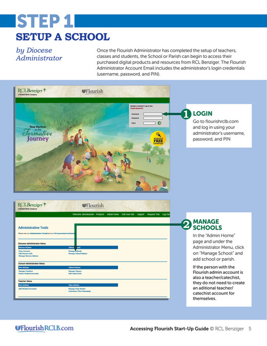 RCL Benziger - Flourish Startup Guide - Page 1 - Created with
