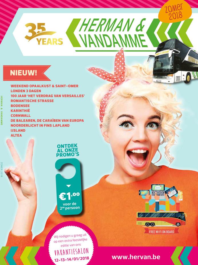 Herman & Vandamme folder van 23/02/2018 tot 31/08/2018 - Zomerbrochure