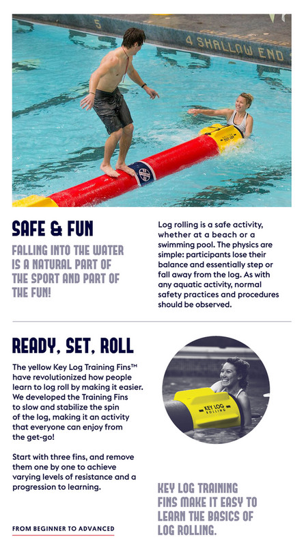 Key Log Rolling - Campus Rec Brochure - Page 4-5 - Created