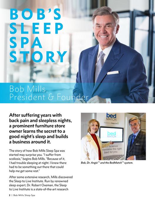 Bob Mills Furniture Bob Mills Sleep Spa Magazine Page 4 5