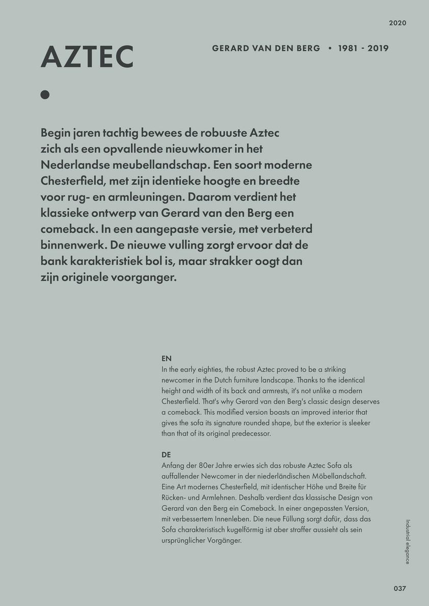 Design Bank Gerard Van De Berg.Montis Montis Magazine 2020 Page 34 35