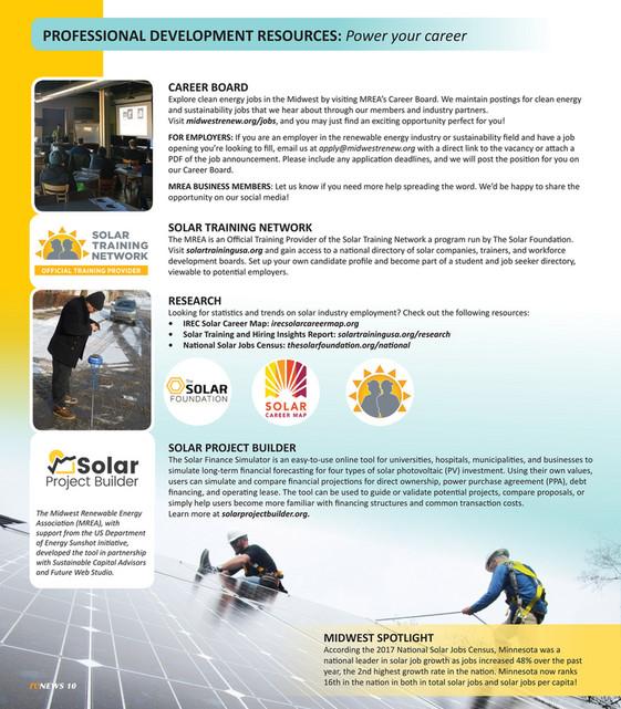 Midwest Renewable Energy Association (MREA) - 2018 MREA Training