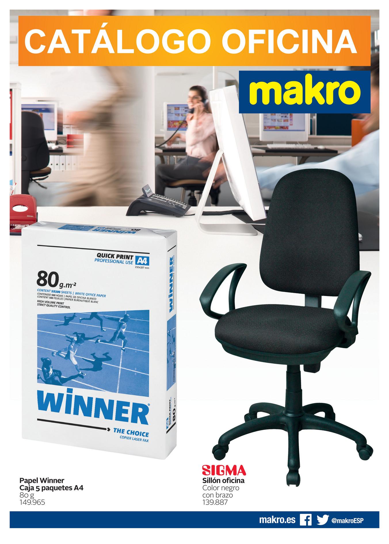 Makro espa a ofertas cat logo oficina p gina 12 13 for Oficinas makro madrid