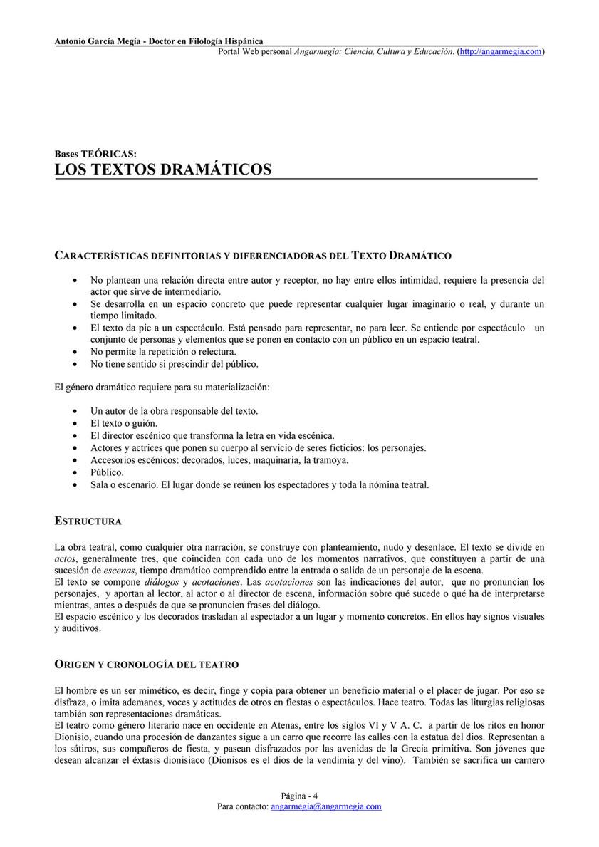 Antonio García Megía Publicaciones Comentar Textos