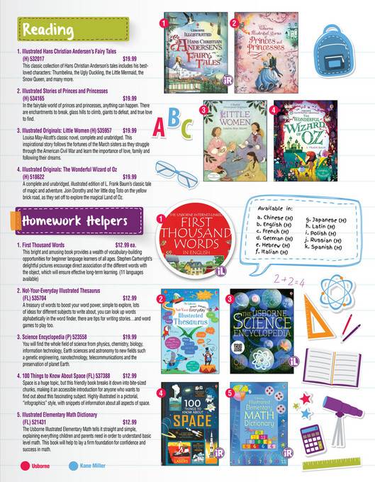 Usborne Books & More - Elementary Education - Page 1 - Created with