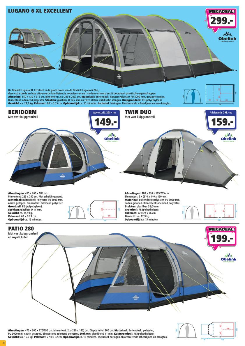 Obelink Dance Pop up tent