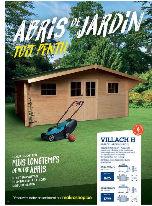 DIY-Garden - makro-belgique-fr-abris-de-jardin-2019 - Page 4 ...