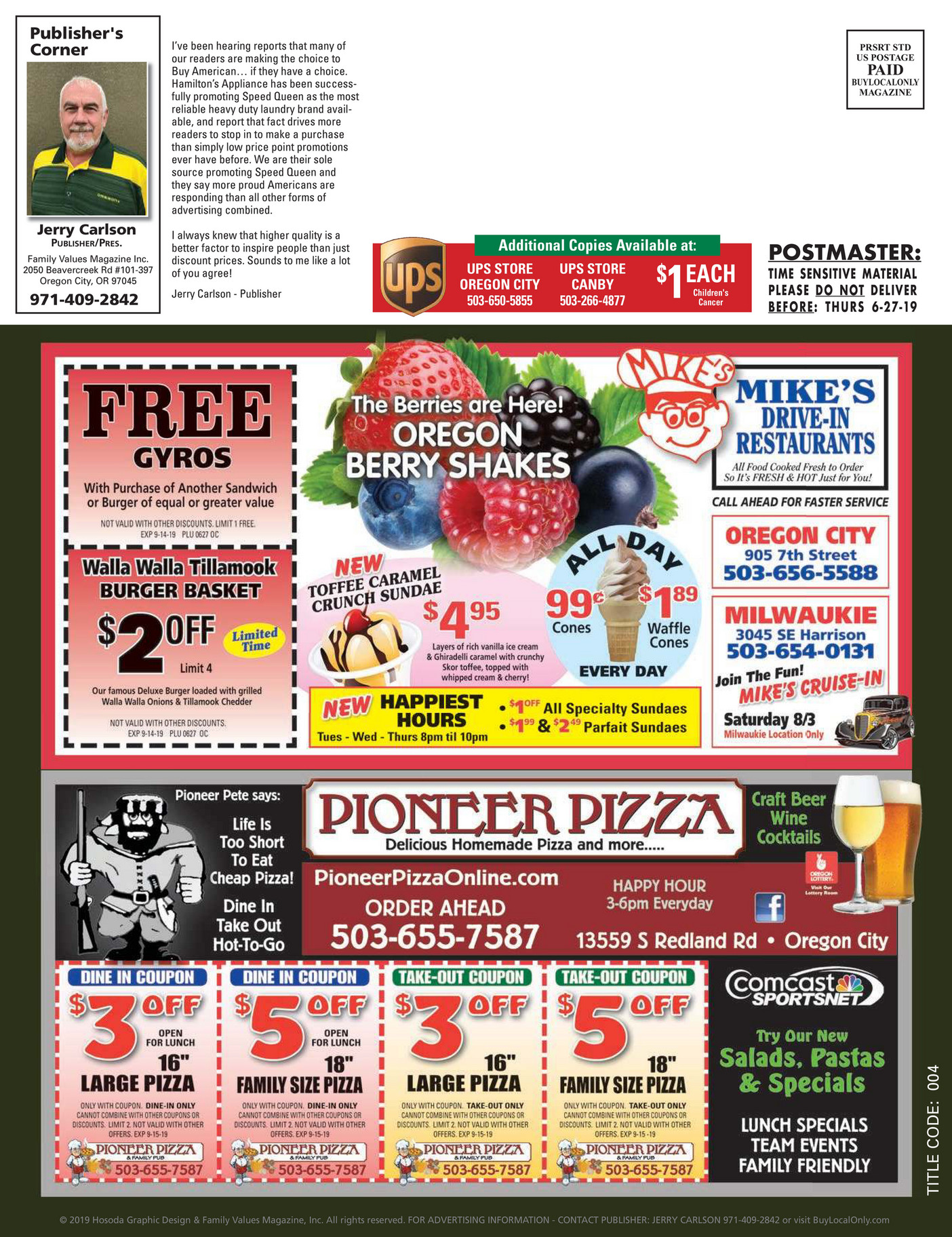 Buylocalonly Magazines Buy Local Only Oregon City Canby July September 2019 Page 33