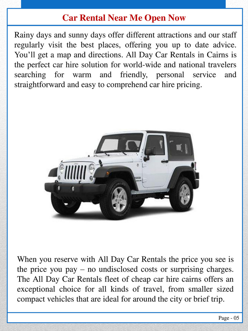 Tires Near Me Open Now >> All Day Car Rentals Car Rental Near Me Open Now Page 4 5