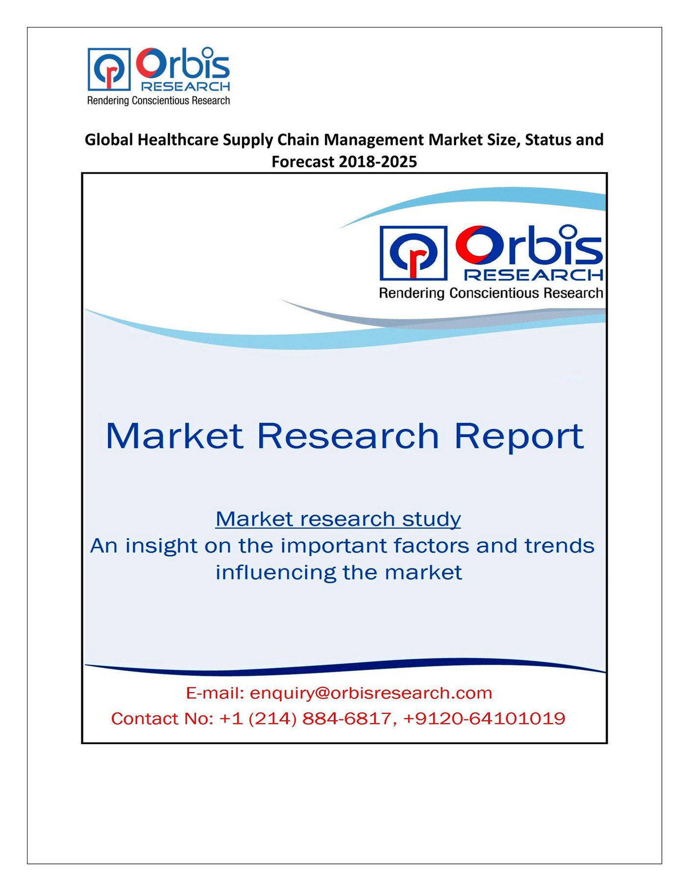 My publications - Global Healthcare Supply Chain Management