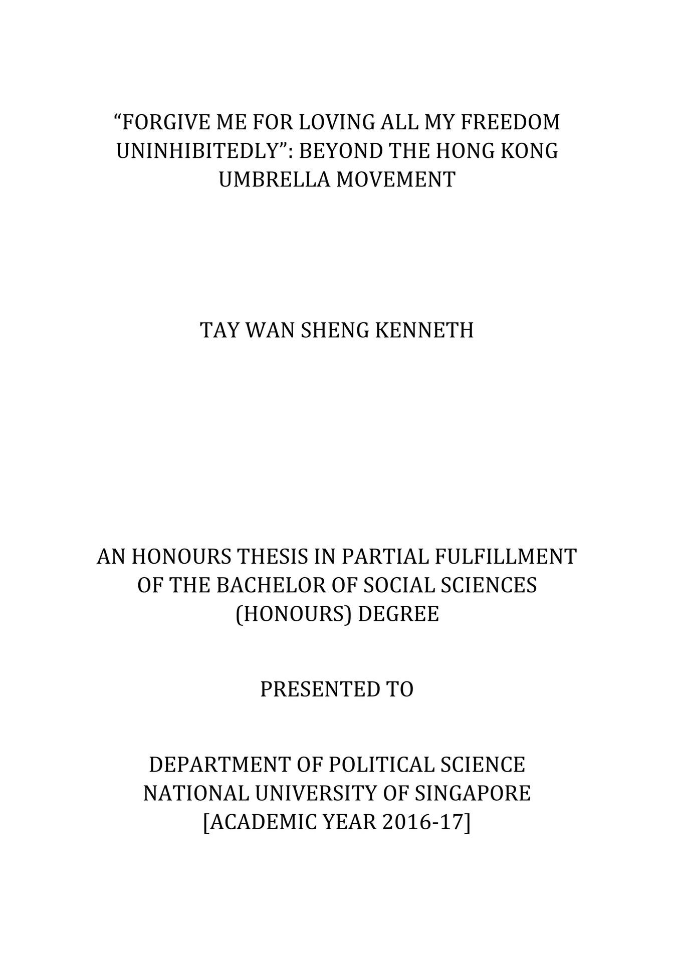 Kenntay.com - Beyond The Hong Kong Umbrella Movement - Page 1 - Created  With Publitas.com
