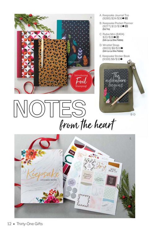 thirty one gifts 2018 thirty one holiday gift guide page 12 13