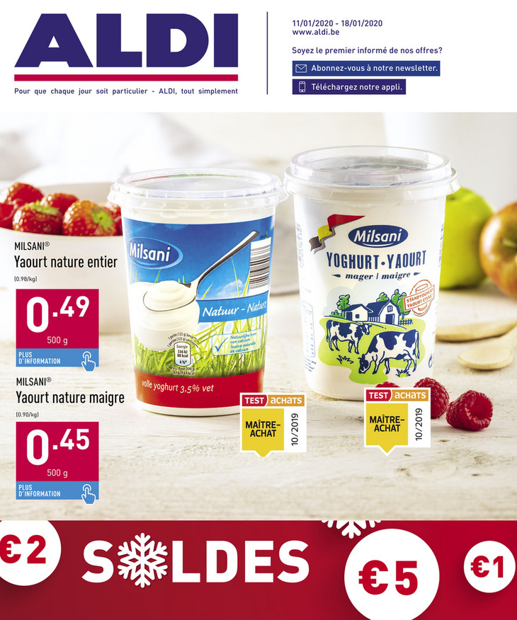 Folder Aldi du 11/01/2020 au 18/01/2020 - Promotions de la semaine 3