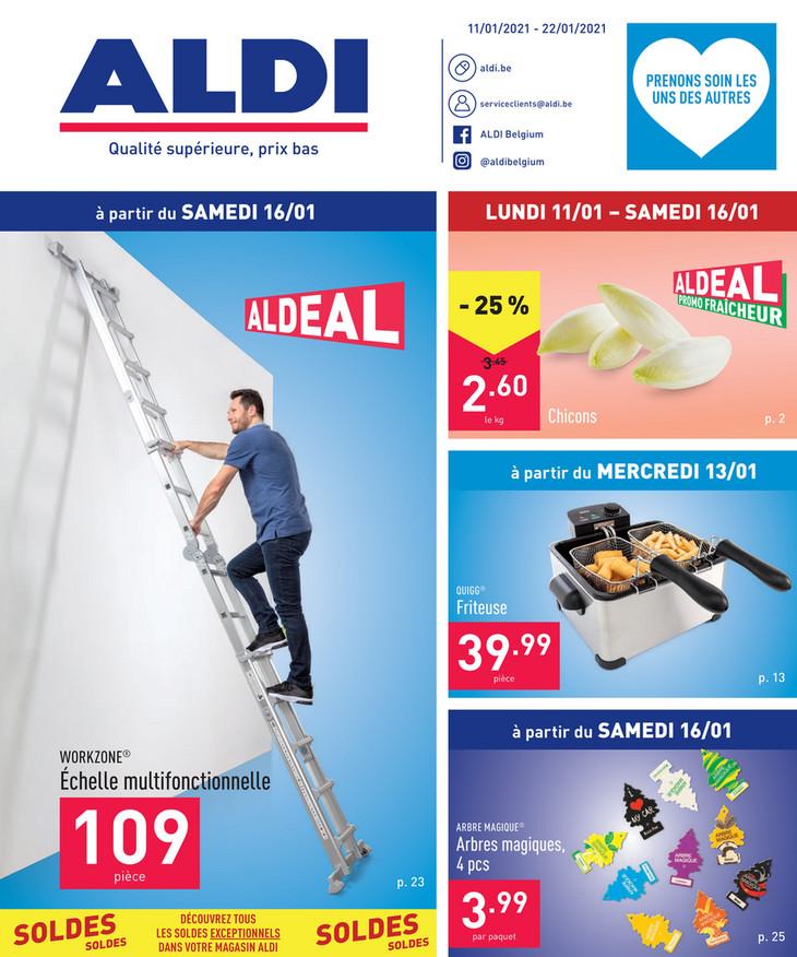 Folder Aldi du 11/01/2021 au 22/01/2021 - Promotions de la semaine 2