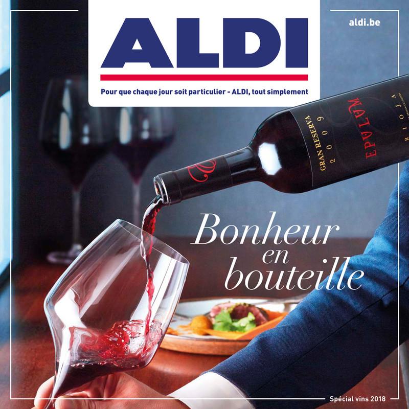 Folder Aldi du 17/09/2018 au 31/10/2018 - Spécial Vin