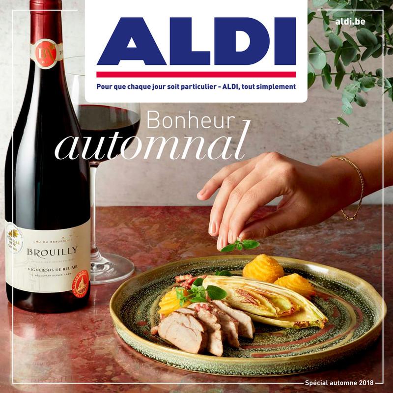 Folder Aldi du 23/10/2018 au 31/12/2018 - Herfstspecial