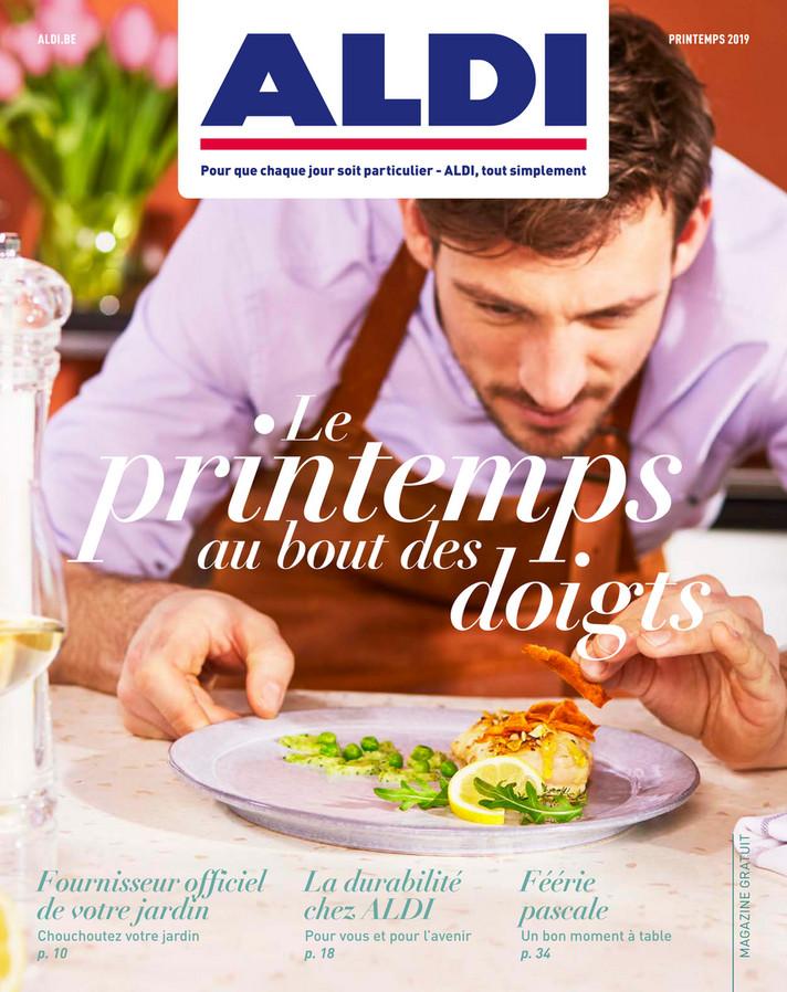 Folder Aldi du 25/03/2019 au 21/06/2019 - Printemps