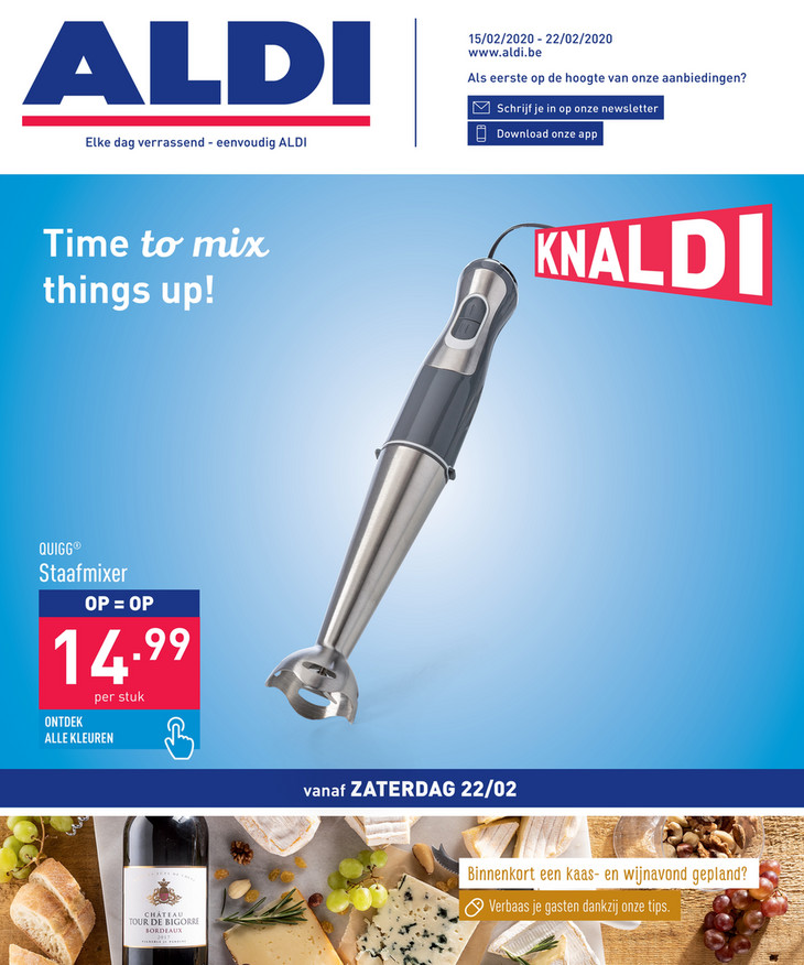 Aldi folder van 15/02/2020 tot 22/02/2020 - Weekpromoties 08