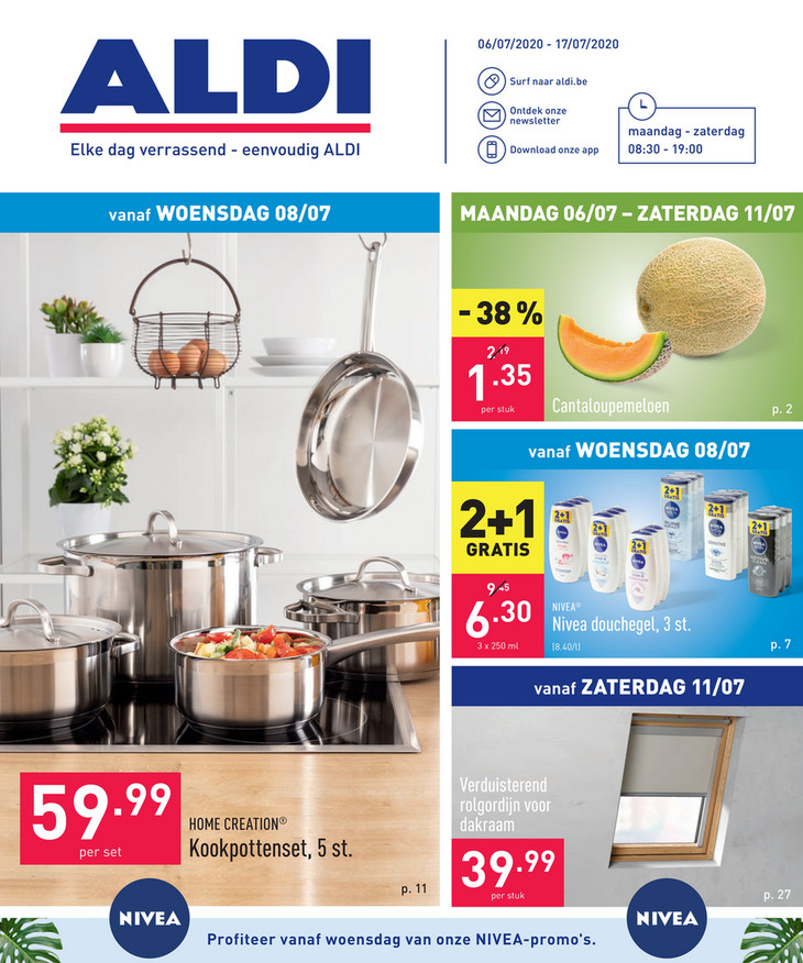 Aldi folder van 06/07/2020 tot 17/07/2020 - Weekpromoties 28