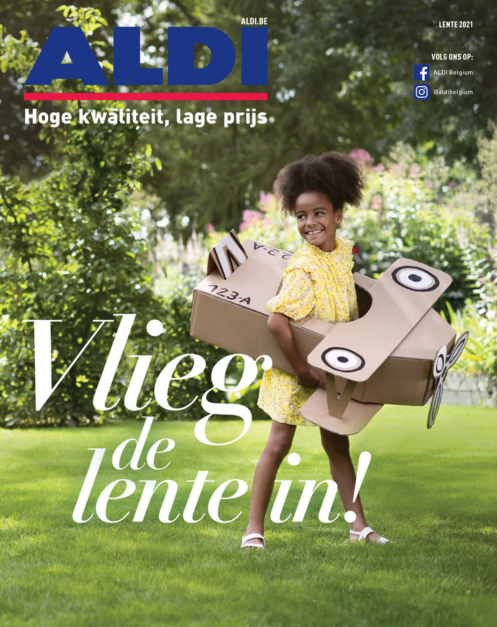 Aldi folder van 16/03/2021 tot 18/04/2021 - Lentemagazine
