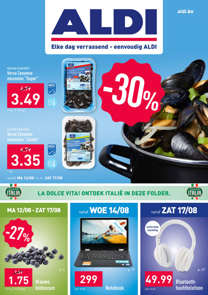 Aldi folder van 12/08/2019 tot 17/08/2019 - Weekpromoties 33