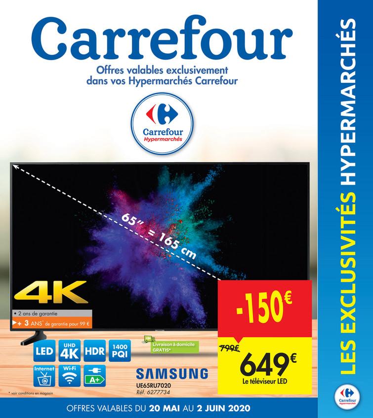 Folder Carrefour du 20/05/2020 au 02/06/2020 - Promotions de la semaine 21a
