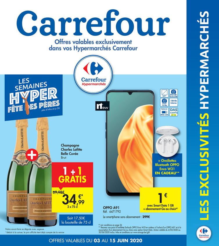 Folder Carrefour du 03/06/2020 au 15/06/2020 - Promotions de la semaine 23a