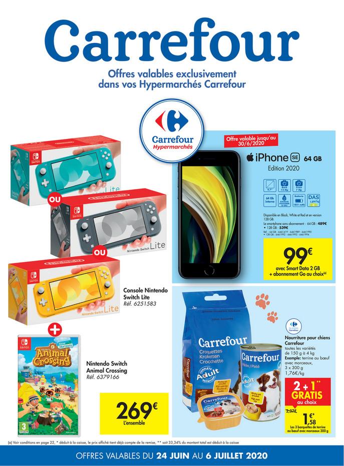 Folder Carrefour du 24/06/2020 au 06/07/2020 - Promotions de la semaine 26