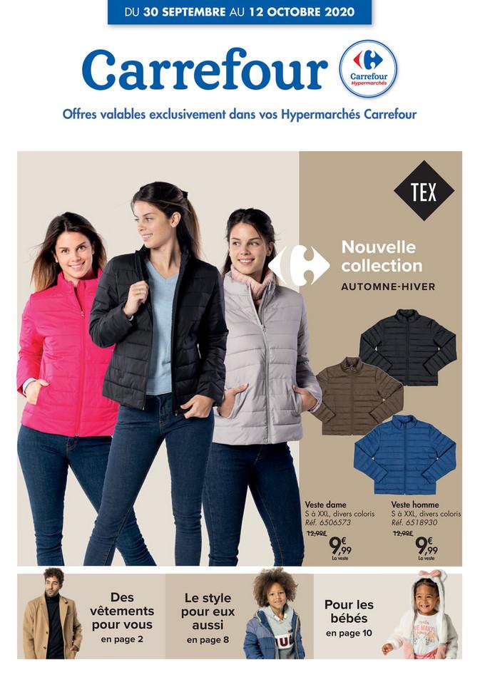 Folder Carrefour du 30/09/2020 au 12/10/2020 - Promotions de la semaine 40b