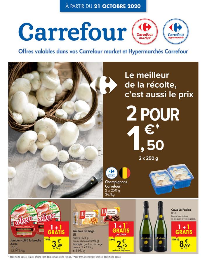 Folder Carrefour du 21/10/2020 au 26/10/2020 - Promotions de la semaine 43