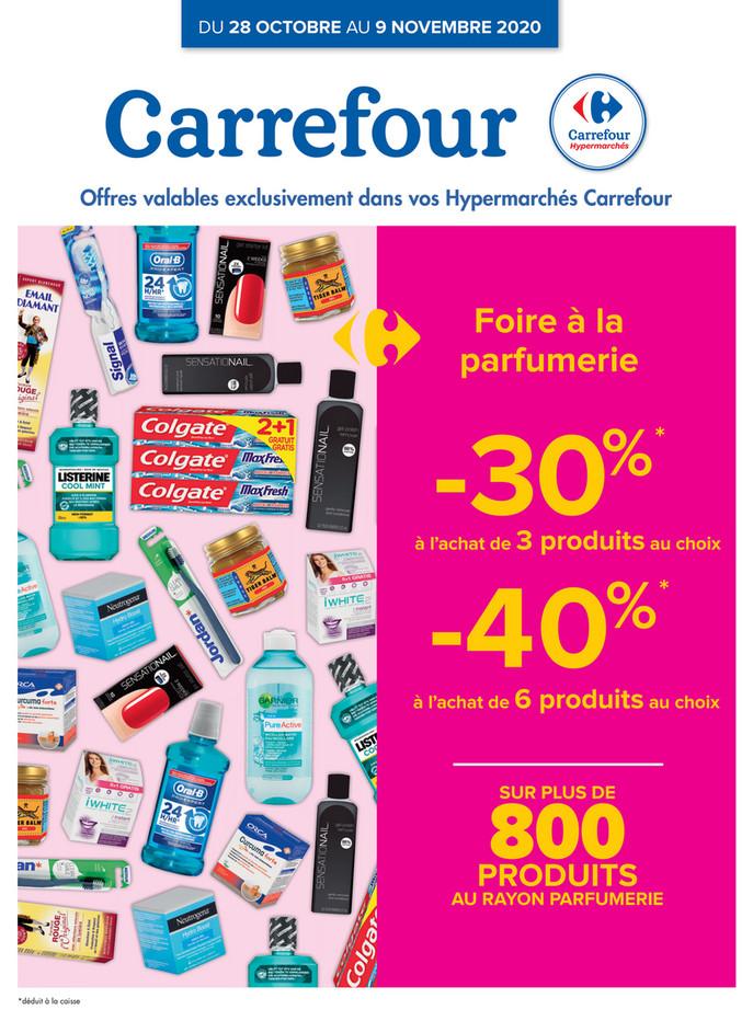 Folder Carrefour du 28/10/2020 au 09/11/2020 - Promotions de la semaine 44