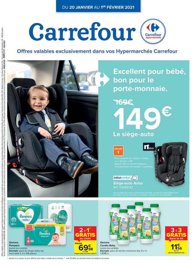 Folder Carrefour du 20/01/2021 au 01/02/2021 - Excl promotions de la semaine 3