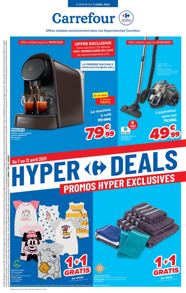 Folder Carrefour du 07/04/2021 au 12/04/2021 - Promotions de la semaine 14 - beche