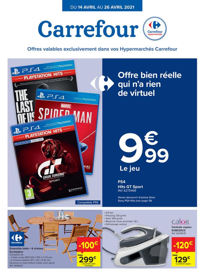 Folder Carrefour du 14/04/2021 au 26/04/2021 - Promotions de la semaine 15