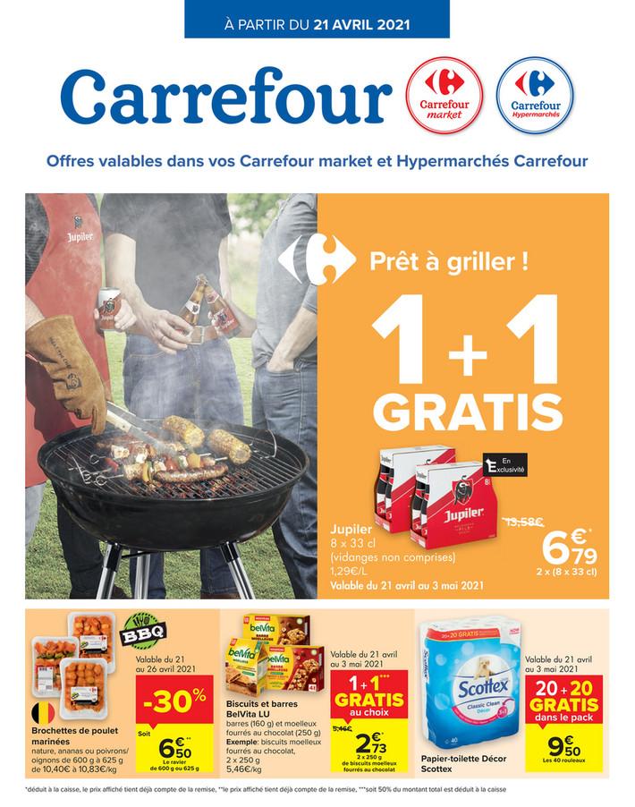 Folder Carrefour du 21/04/2021 au 26/04/2021 - Promotions de la semaine 16
