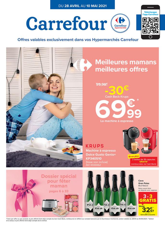 Folder Carrefour du 28/04/2021 au 10/05/2021 - Promotions de la semaine 17