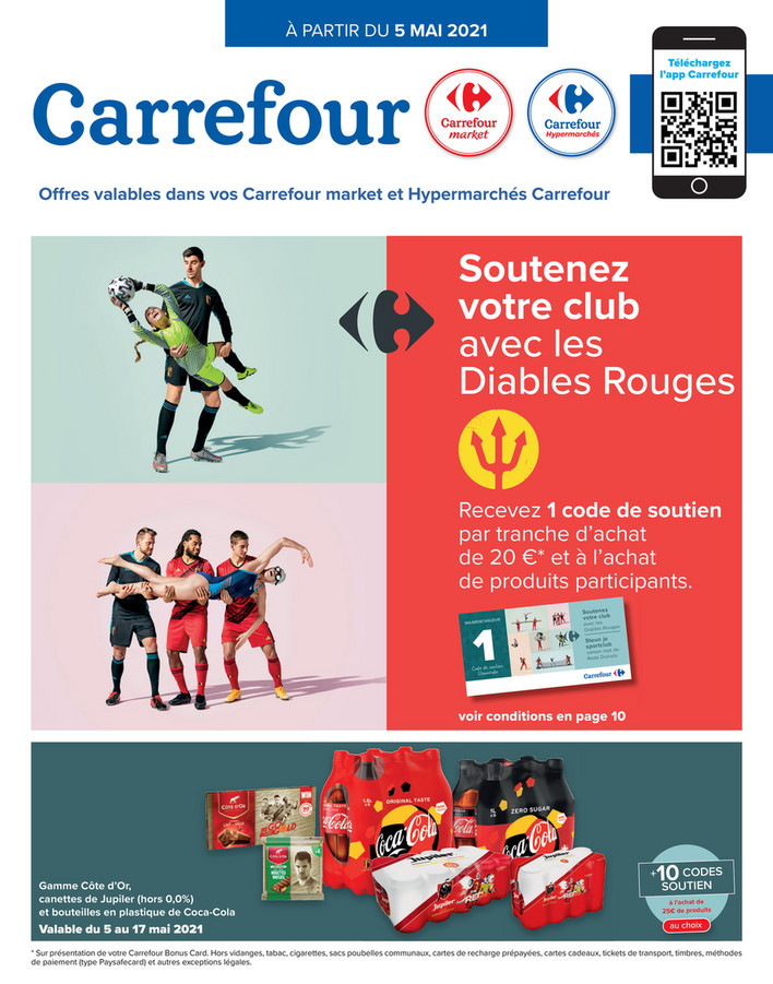 Folder Carrefour du 05/05/2021 au 10/05/2021 - Promotions de la semaine 18