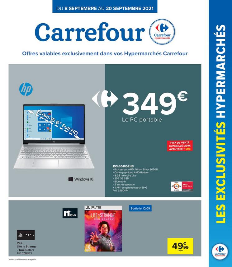 Folder Carrefour du 10/09/2021 au 20/09/2021 - Promotions de la semaine 36 2